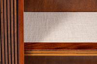 Large Mahogany Open Bookcase c.1920 (3 of 9)