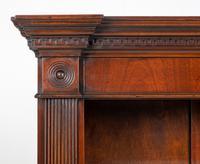 Large Mahogany Open Bookcase c.1920 (4 of 9)