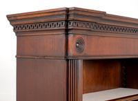 Large Mahogany Open Bookcase c.1920 (7 of 9)
