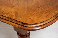 Victorian Oak Extending Dining Table (9 of 9)