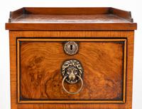 Pair of Victorian Walnut Bedside Cabinets (3 of 8)