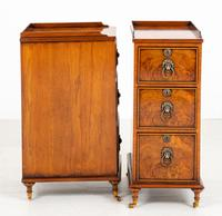 Pair of Victorian Walnut Bedside Cabinets (4 of 8)