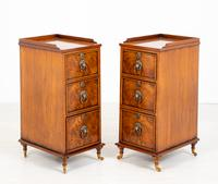 Pair of Victorian Walnut Bedside Cabinets (5 of 8)