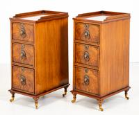 Pair of Victorian Walnut Bedside Cabinets (7 of 8)