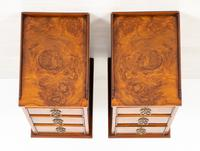 Pair of Victorian Walnut Bedside Cabinets (8 of 8)