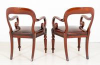 Good Pair of Victorian Mahogany Desk Chairs (7 of 9)