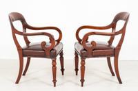 Good Pair of Victorian Mahogany Desk Chairs (3 of 9)