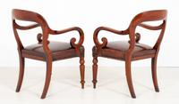 Good Pair of Victorian Mahogany Desk Chairs (6 of 9)