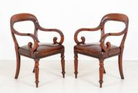 Good Pair of Victorian Mahogany Desk Chairs (2 of 9)