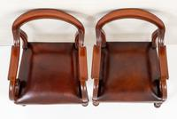 Good Pair of Victorian Mahogany Desk Chairs (9 of 9)