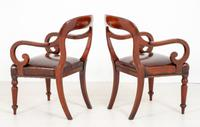 Good Pair of Victorian Mahogany Desk Chairs (8 of 9)