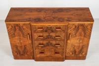 Superb Art Deco Figured Walnut Sideboard (7 of 8)