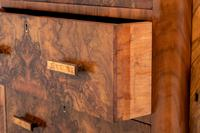 Superb Art Deco Figured Walnut Sideboard (8 of 8)