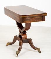 Regency Rosewood Card Table (9 of 11)
