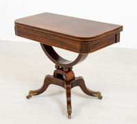 Regency Rosewood Card Table (7 of 11)