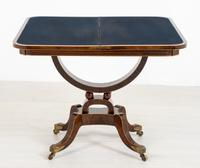 Regency Rosewood Card Table (3 of 11)