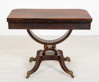 Regency Rosewood Card Table (10 of 11)