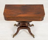 Regency Rosewood Card Table (11 of 11)