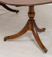 Regency Style Mahogany 2 Leaf Extending Dining Table (4 of 7)