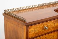 Satinwood Sheraton Design Carlton House Type Desk (9 of 15)