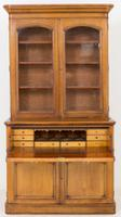 Victorian Blonde Oak Bookcase c.1860 (2 of 8)