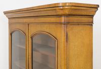 Victorian Blonde Oak Bookcase c.1860 (8 of 8)