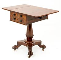 William IV Mahogany Sewing Table (3 of 8)