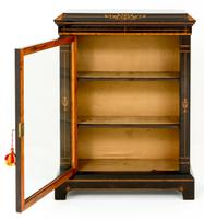 Arts & Crafts Ebonised Pier Cabinet (4 of 8)