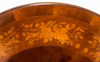 Superb Victorian Walnut & Marquetry Centre Table (10 of 10)