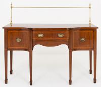 Very Pretty Mahogany Sheraton Revival Sideboard c.1880