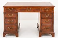 Mahogany Pedestal Desk with Georgian Influences c.1920