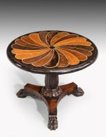 Anglo-Portuguese 19th Century Inlaid Table with Exotic Timbers (2 of 7)
