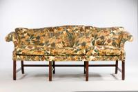 Chippendale Period Camelback Sofa