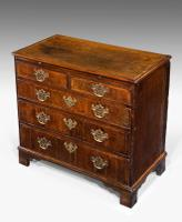 George III Period Oak Chest of Drawers (3 of 6)