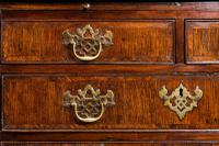 George III Period Oak Chest of Drawers (5 of 6)