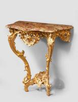 Louis XV Giltwood Console Table C.1750
