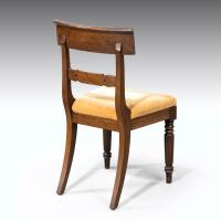 Good Set 6+1 of William IV Mahogany Framed Chairs (2 of 6)
