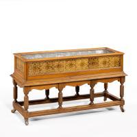 Most Unusual 19th Century Walnut Jardinière