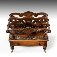 Late Georgian Period Mahogany Canterbury (3 of 6)