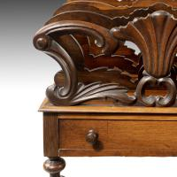 Late Georgian Period Mahogany Canterbury (5 of 6)