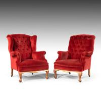 Handsome Pair of Mid 20th Century Easy Chairs (3 of 6)