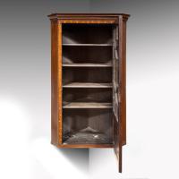 Most Attractive George III Period Mahogany Corner Cupboard (2 of 6)