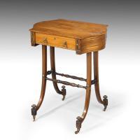 Elegant Regency Period Work Table (9 of 9)