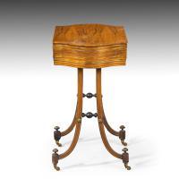 Elegant Regency Period Work Table (3 of 9)