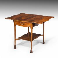 Most Attractive Late 19th Century Mahogany Pembroke Table