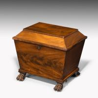 Beautifully Figured Regency Period Wine Cooler
