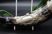Early 20th Century Beautiful Mounted Natural Horn (4 of 6)