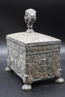 Beautifully Constructed Late 18th Century Rectangular Metal Box (4 of 8)