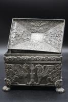 Beautifully Constructed Late 18th Century Rectangular Metal Box (6 of 8)