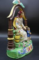 Important Early 19th Century Staffordshire Pair of Elijah & Wife (8 of 8)